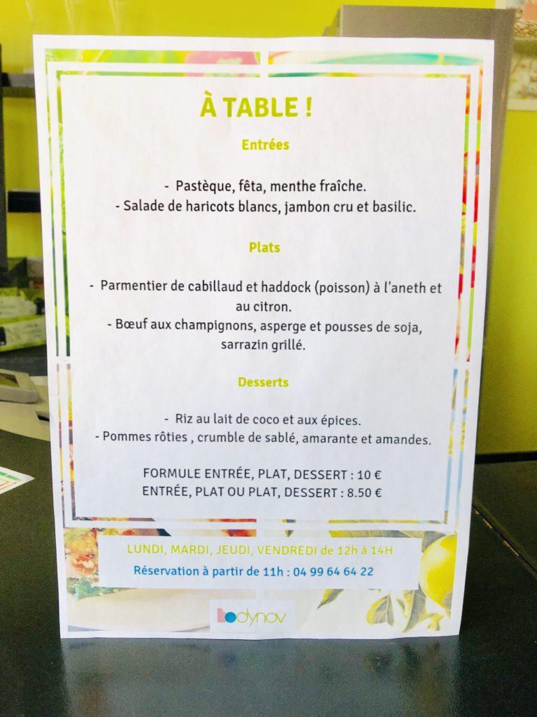 Bodynov : centre santé et bien être avec des professionnels spécialisés. Atelier culinaire et restaurant par un chef étoilé