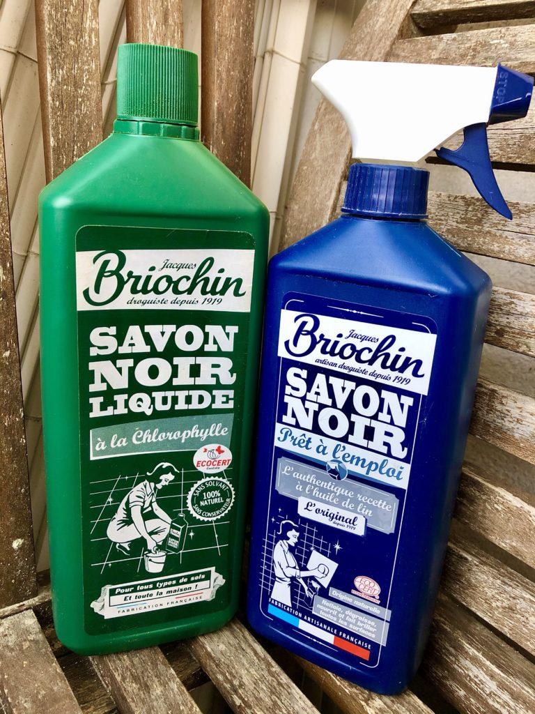 Les utilisations du savon noir . astuces de ménage au naturel . mon avis sur les produits Briochin pour le ménage